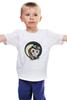 """Детская футболка классическая унисекс """"Сова_стимпанк"""" - арт, сова, owl, steampunk, стимпанк, nopperapon"""