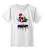"""Детская футболка классическая унисекс """"Череп Дали"""" - skull, сальвадор дали, сюрреализм, salvador dali, сальвадор"""