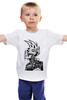 """Детская футболка классическая унисекс """"Punks not Dead"""" - череп, арт, черепа, стиль, punk, панк, парню, ирокез, punks"""
