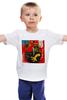 """Детская футболка """"Basquiat"""" - граффити, робот, basquiat, баския, жан-мишель баския"""