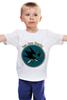 "Детская футболка ""San Jose Sharks"" - спорт, хоккей, nhl, нхл, сан хосе шаркс"