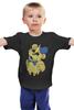 """Детская футболка классическая унисекс """"Golden Freddy"""" - пять ночей у фредди, five nights at freddy's, yellow bear"""