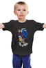 """Детская футболка классическая унисекс """"Bad boy"""" - girl, tattoo, boy, swag"""