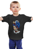 "Детская футболка ""Bad boy"" - girl, tattoo, boy, swag"