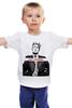 """Детская футболка классическая унисекс """"Go Hard NEW"""" - путин, президент, putin, владимир владимирович, go hard"""