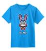 """Детская футболка классическая унисекс """"Бонни ( Bonnie The Bunny)"""" - пять ночей у фредди, five nights at freddy's, bonnie, бонни"""
