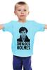 "Детская футболка ""Sherlock Holmes"" - лондон, sherlock, шерлок, ватсон, cumberbatch"