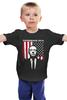 """Детская футболка классическая унисекс """"Кевин Спейси (Underwood 2016)"""" - америка, сша, house of cards, карточный домик, kevin spacey"""