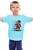 "Детская футболка ""Flash Dead"" - skull, череп, скелет, flash, флэш"