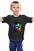 """Детская футболка классическая унисекс """"Astronaut Cat"""" - арт, space, космос, кошки, astronaut cat"""