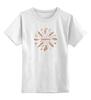 """Детская футболка классическая унисекс """"Equilibrium"""" - йога, спокойствие, перья, равновесие, баланс"""