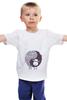 """Детская футболка классическая унисекс """"Барашек"""" - рисунок, барашек, sheep"""