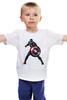 """Детская футболка классическая унисекс """"Капитан Америка / Captain America"""" - супергерой, марвел, капитан америка, captain america, kinoart"""