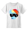 """Детская футболка классическая унисекс """"SWAG пони"""" - pony, mlp, пони, swag"""
