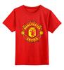 "Детская футболка классическая унисекс ""Manchester United 1878"" - club, london, football, uk, манчестер юнайтед, mu, manchester united, футбольный клуб, fc, manutd"