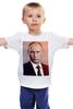 """Детская футболка """"Путин-Арт"""" - россия, путин, президент, кремль, ввп"""