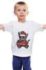 """Детская футболка классическая унисекс """" New year"""" - новый год"""