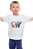 """Детская футболка """"Громозека унижает Скруджа Мак Дака"""" - россия, патриотизм, стёб"""
