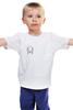 "Детская футболка классическая унисекс ""OWSLA T-Shirt JadeFuture White"" - dubstep, skrillex, feeed me, ktn"