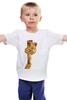 "Детская футболка ""Гарфилд"" - кот, рыжий, котейка, гарфилд, garfield"