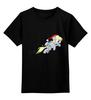 """Детская футболка классическая унисекс """"A merry Derpy"""" - mlp, my little pony, x-mas"""