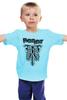 "Детская футболка классическая унисекс ""Fright Light"" - кости, рёбра, ribs, fright light, rib"
