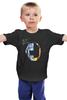 """Детская футболка классическая унисекс """"Daft Punk - Random Access Memories"""" - robot, электроника, daft punk, шлем, random access memories"""