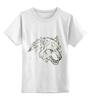 """Детская футболка классическая унисекс """"Angry Wolf Толстовка """" - волк, wolf"""