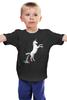 """Детская футболка классическая унисекс """"Единорог"""" - радуга, пони, абстракция, unicorn, единорог"""