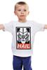 "Детская футболка ""Мегатрон"" - трансформеры, hail, град, мегатрон"