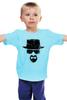 """Детская футболка """"Heisenberg"""" - во все тяжкие, breaking bad, уолтер уайт, heisenberg, cook"""