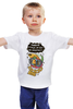"""Детская футболка """"Joy!"""" - приколы, деньги, попугай, кеша"""