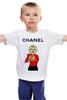 """Детская футболка классическая унисекс """"Chanel"""" - прикол, юмор, духи, fashion, шанель, perfume"""