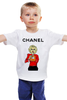 "Детская футболка классическая унисекс ""Chanel"" - прикол, юмор, духи, fashion, perfume"