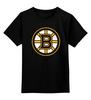 """Детская футболка классическая унисекс """"Boston Bruins"""" - хоккей, nhl, нхл, boston bruins, бостон брюинз"""