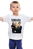 "Детская футболка ""Nirvana"" - гранж, nirvana, kurt cobain, курт кобейн, нирвана"