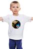 "Детская футболка ""Scorpion x Sub-Zero (Mortal Kombat)"" - mortal kombat, файтинг, mk, мортал комбат, cмертельная битва"