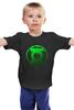 """Детская футболка классическая унисекс """"Зеленый Фонарь"""" - комикс, зеленый, зеленый фонарь, фонарь, green lantern"""