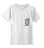 """Детская футболка классическая унисекс """"Fortune """" - арт, перо, фортуна, дотворк, лайнарт, feather, tm kiseleva"""