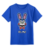 """Детская футболка классическая унисекс """"Бонни ( Bonnie The Bunny)"""" - бонни, пять ночей у фредди, five nights at freddy's"""