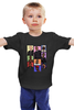 "Детская футболка ""Легенды Хип-Хопа (Рэпа)"" - 2pac, eminem, kanye west, jay z, nas"