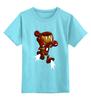 """Детская футболка классическая унисекс """"Бомбермэн (Bomberman)"""" - iron man, бомбермэн, bomberman, жедезный человек"""