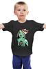 """Детская футболка классическая унисекс """"Зомби Монро"""" - zombie, monroe, зомби монро"""