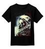 """Детская футболка классическая унисекс """"мертвый космос"""" - skull, череп, space, космос, astronaut, death, смерть, dead, космонавт"""