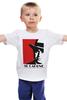 """Детская футболка классическая унисекс """"Аль Капоне (Al Capone)"""" - mafia, мафия, al capone, chicago, аль капоне, чикаго, 1920's"""