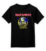 """Детская футболка классическая унисекс """"Iron Maiden Band"""" - heavy metal, рок музыка, iron maiden, хэви метал, eddie"""