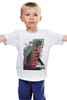 "Детская футболка ""Godzilla "" - кино, иероглифы, годзилла, godzilla, kinoart"