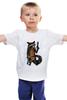 """Детская футболка классическая унисекс """"Енот Marvel"""" - comics, комикс, рисунок, marvel, стражи галактики, реактивный енот, rocket raccoon, guardians of the galaxy"""