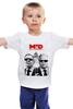 """Детская футболка """"MID - men in diplomacy"""" - сергей лавров, виталий чуркин, министр, посол, дипломатия"""
