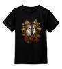 """Детская футболка классическая унисекс """"Осенний Волк"""" - wolf, волк, животные, осень"""